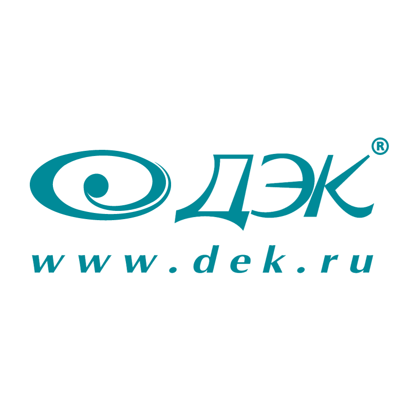 DEK Corporation vector logo