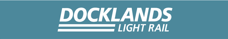 Docklands Light Railway vector