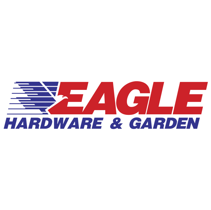 Eagle Hardware & Garden vector logo