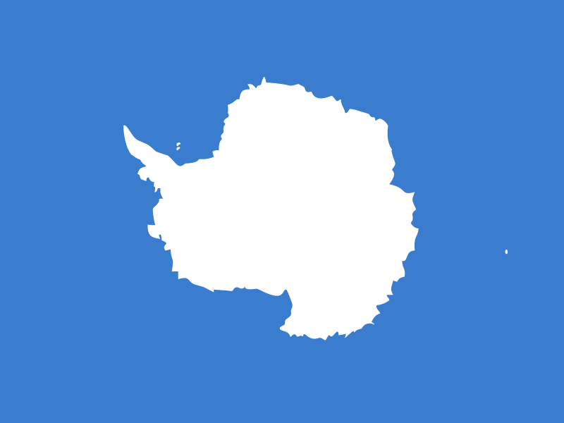 Flag of Antarctica vector