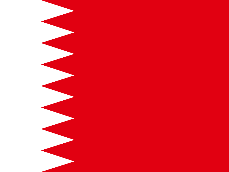 Flag of Bahrain vector