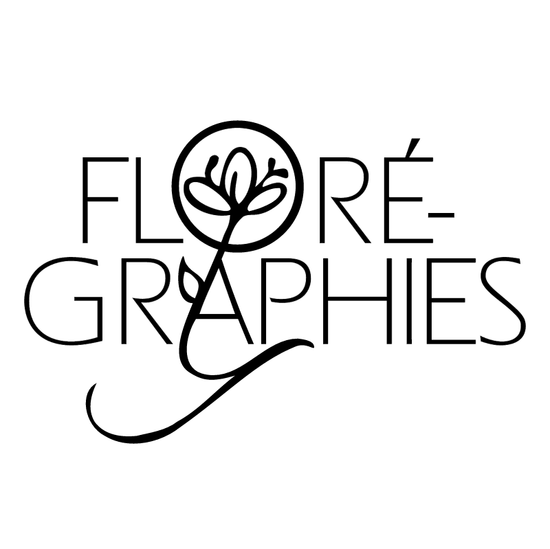Floregraphies vector logo