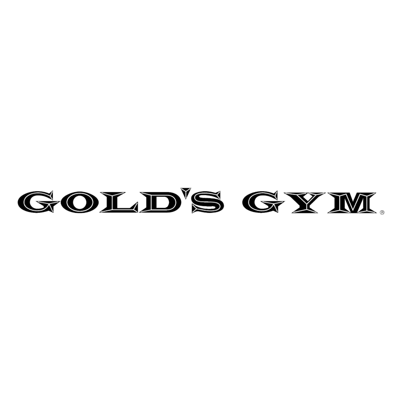Gold's Gym vector logo