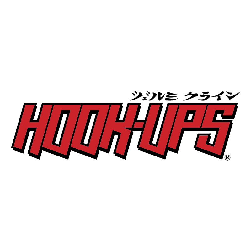 Hook Ups Skateboards vector