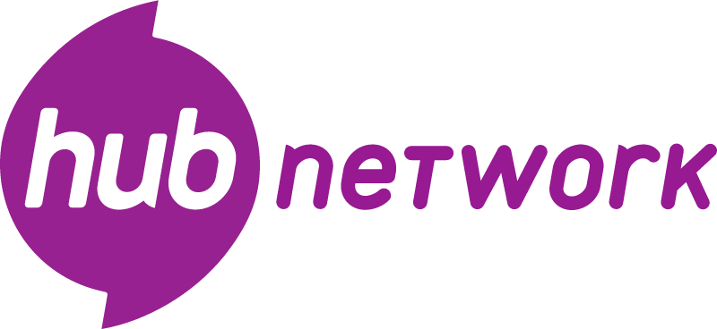 Hub Network vector logo