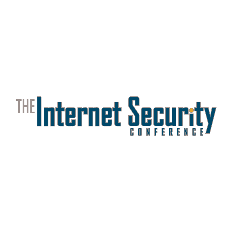 Internet Security Conference vector logo