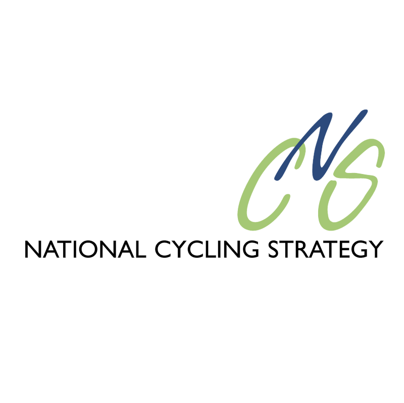 National Cycling Strategy vector logo