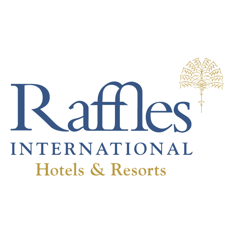Raffles International vector logo