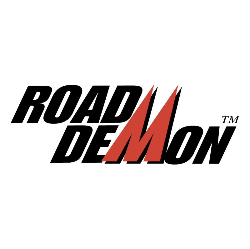 Road Demon vector logo