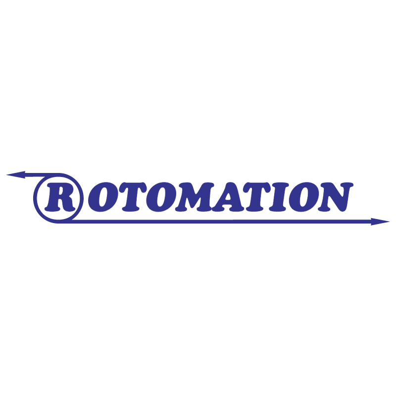 Rotomation vector logo