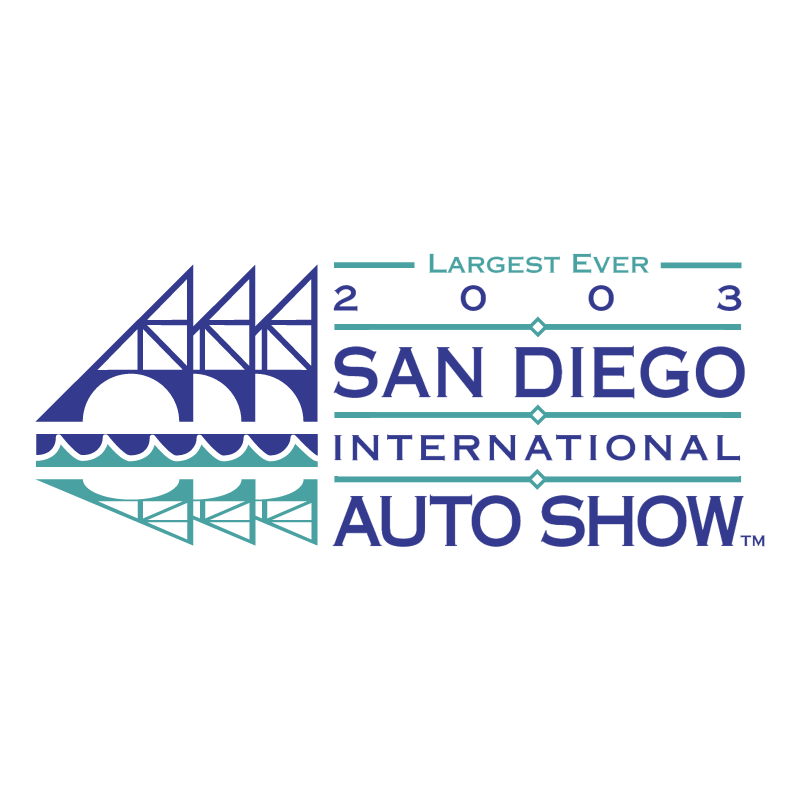 San Diego International Auto Show vector logo