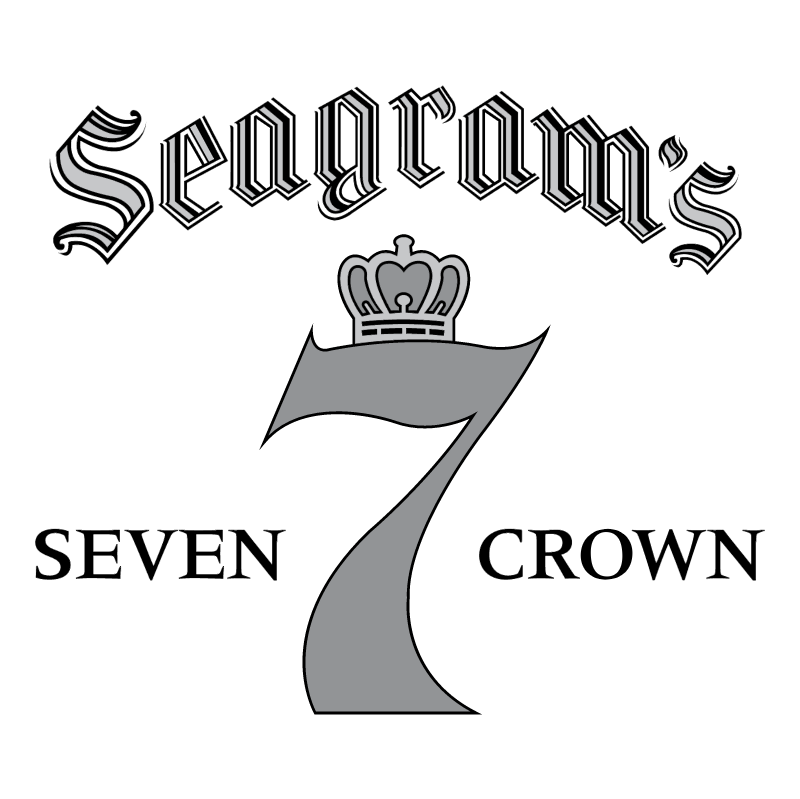 Seagram's Seven Crown logo