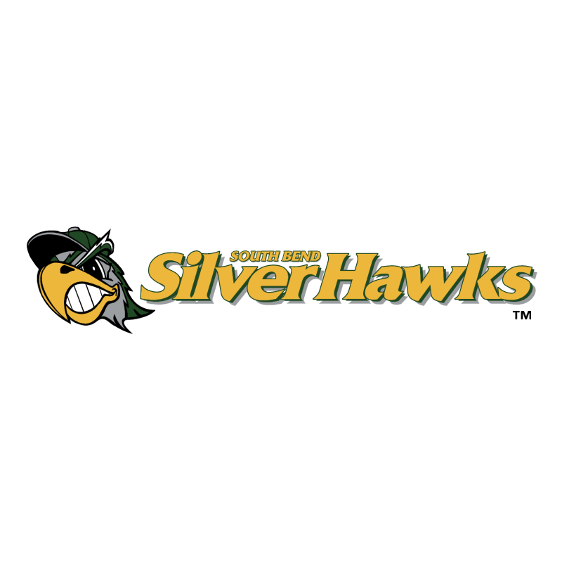 South Bend Silver Hawks vector logo