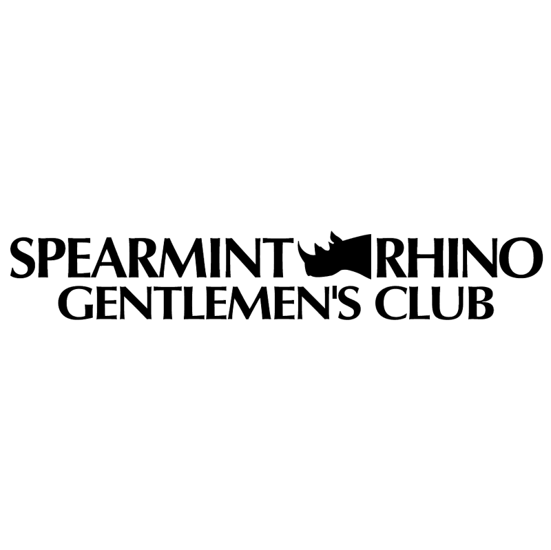 Spearmint Rhino Gentlemen's Club vector
