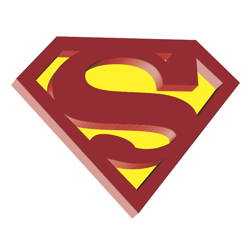 Superman vector logo