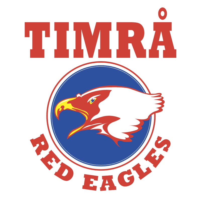 Timra IK Red Eagles vector logo
