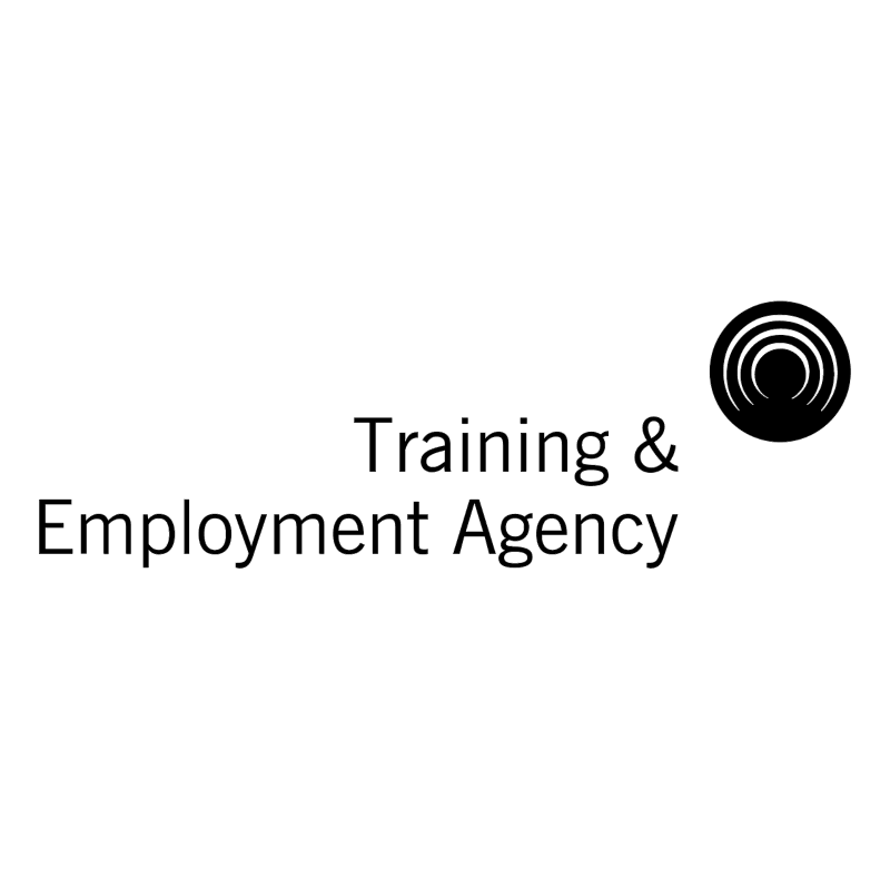 Training & Employment Agency vector