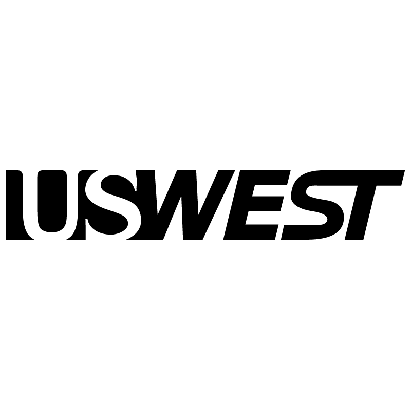 U S West vector logo