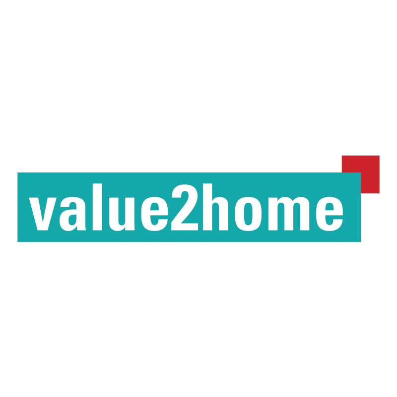 value2home vector logo