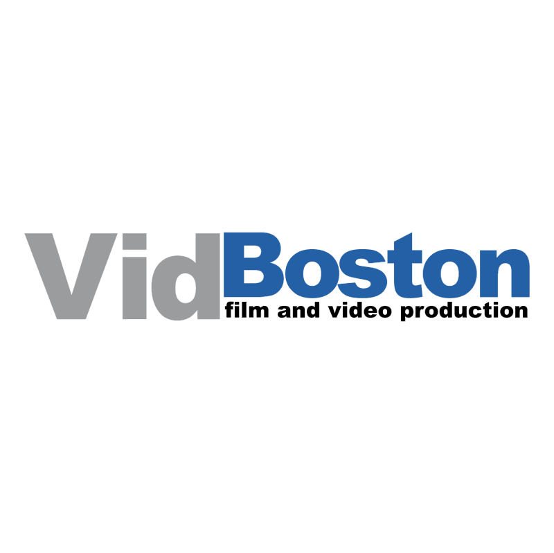 VidBoston vector logo