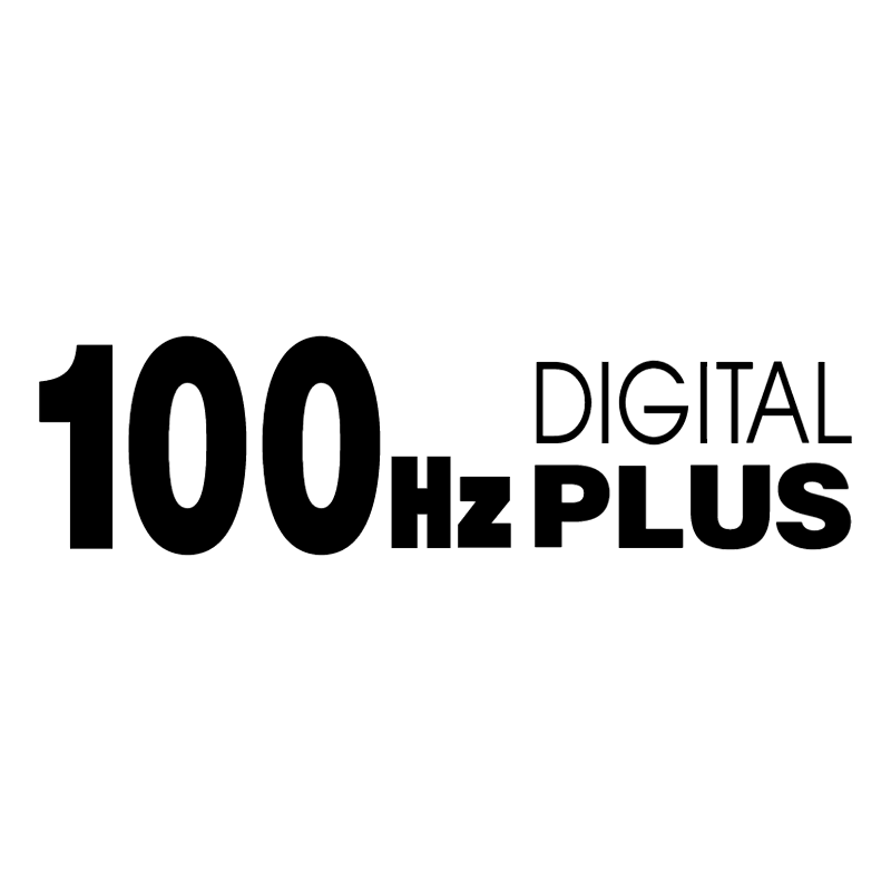 100 Hz Digital Plus
