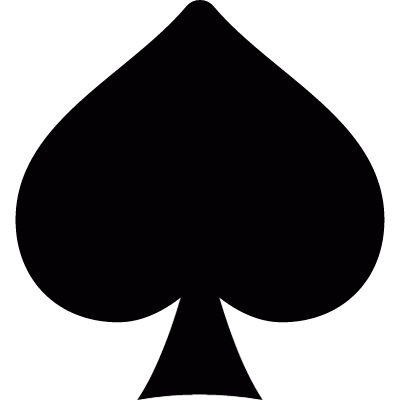 Symbol of Spades vector logo