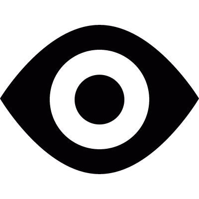 Black eye logo