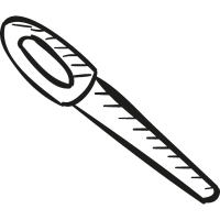 School Pen vector