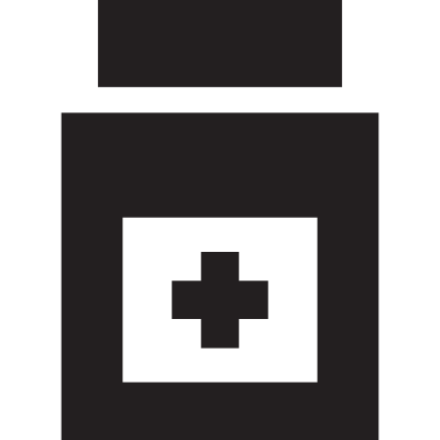 Medicine Bottle logo