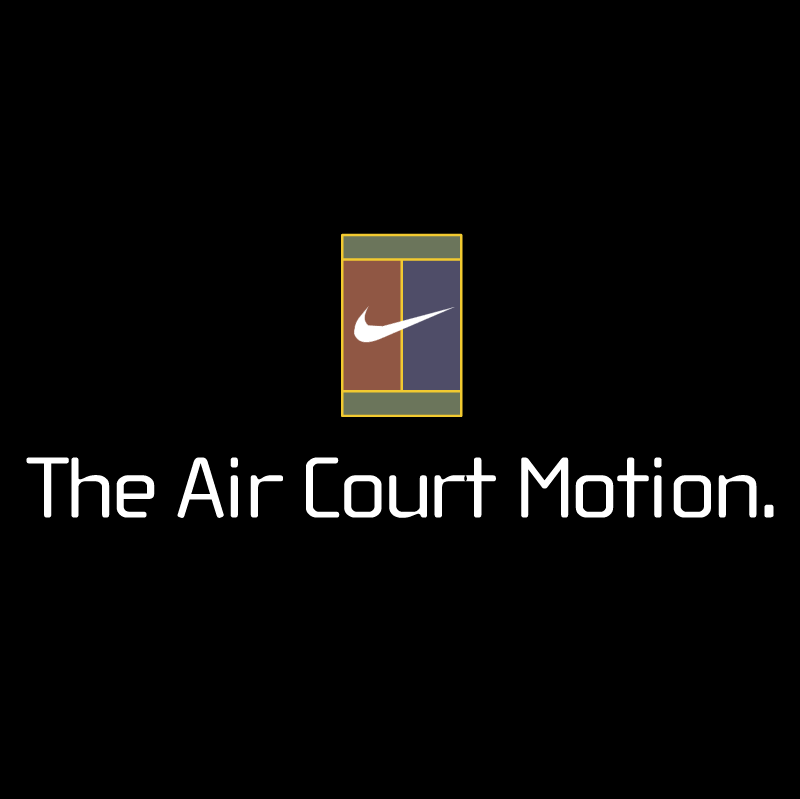 Air Court Motion vector logo