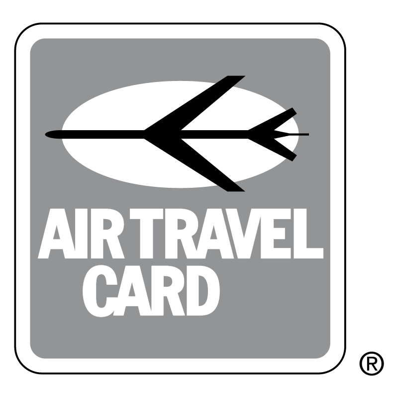 Air Travel Card vector