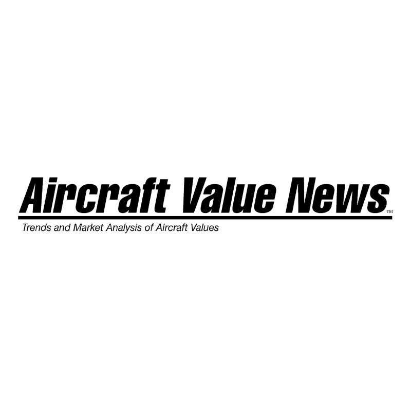 Aircraft Value News vector logo