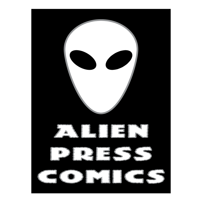 Alien Press Comics vector logo