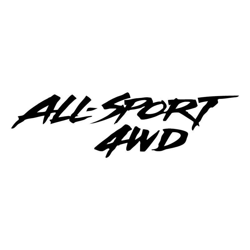 All Sport 4WD 60077 vector logo