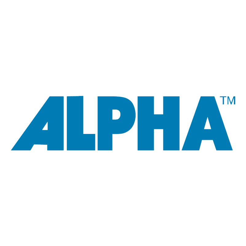 Alpha 39840 vector logo