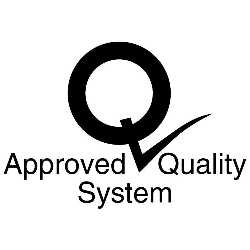 Approved Quality System 6122 vector