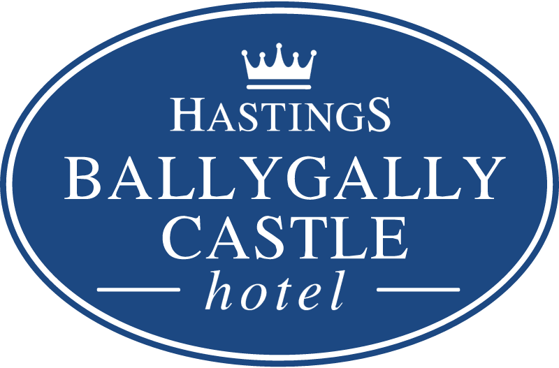 BALLYGALLY CASTLE HOTEL vector logo