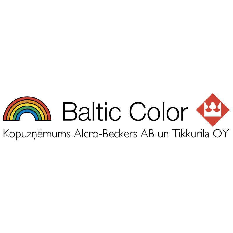Baltic Color vector logo