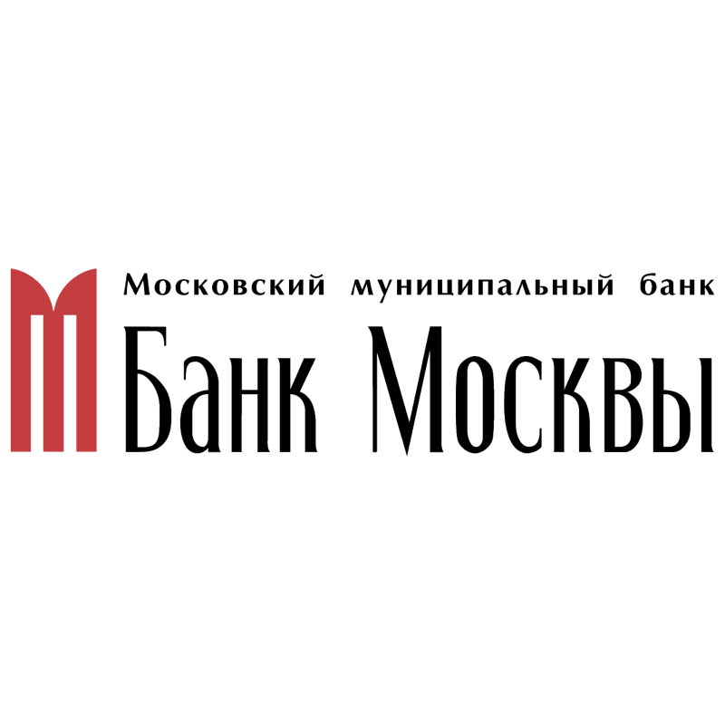 Bank Moscow vector logo