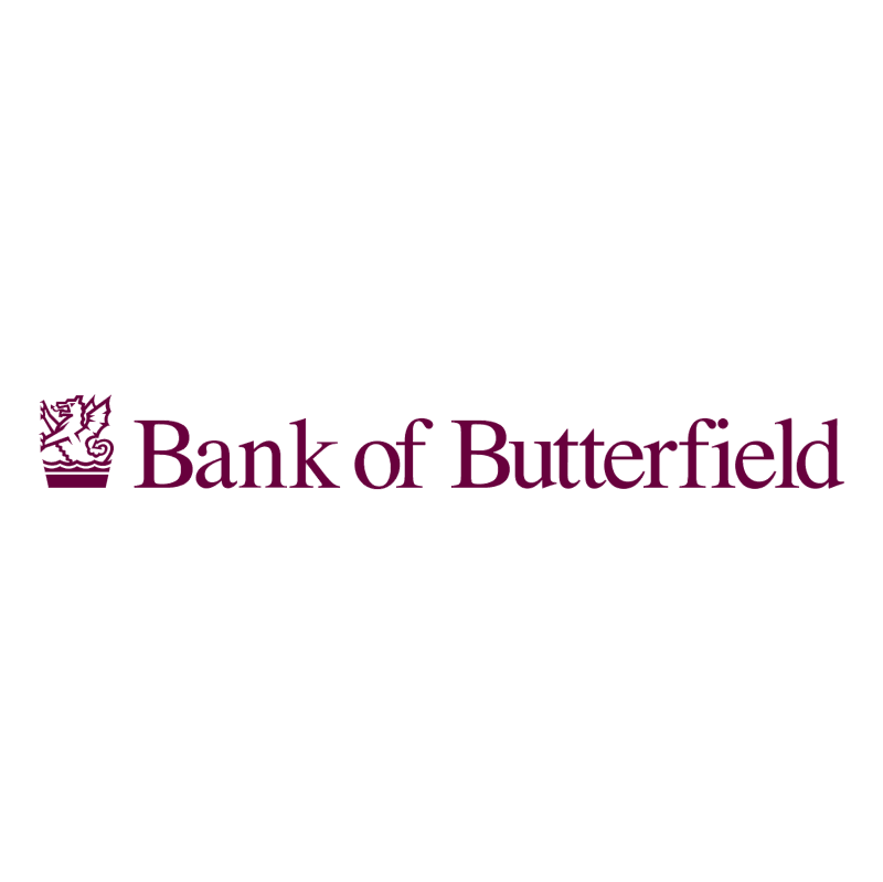 Bank of Butterfield 79504 vector