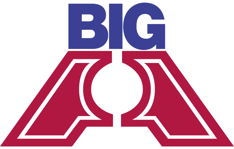 BIG A AUTO PARTS vector logo
