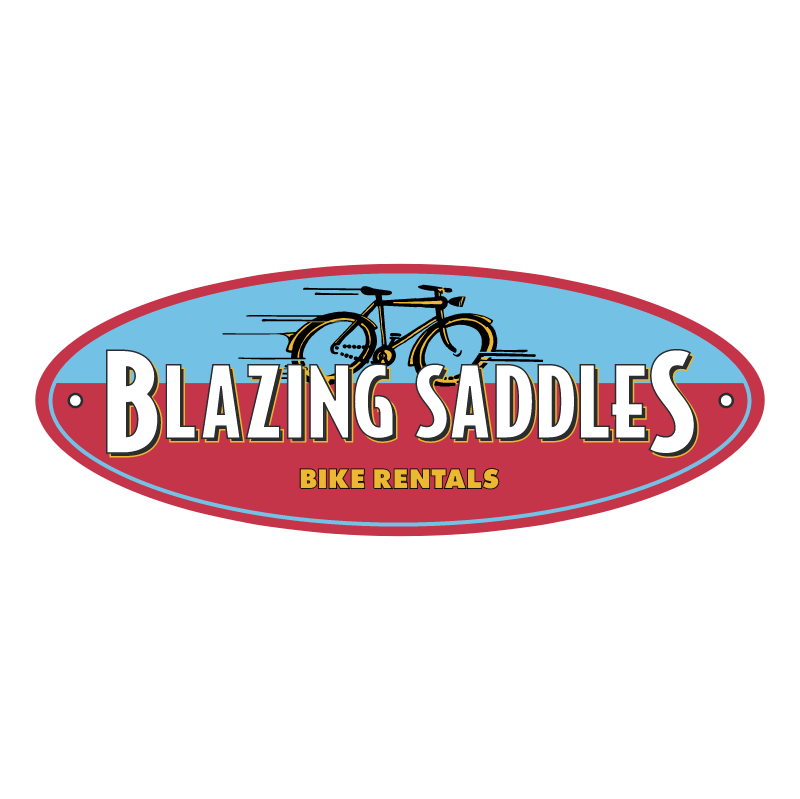 Blazing Saddles 39088 logo
