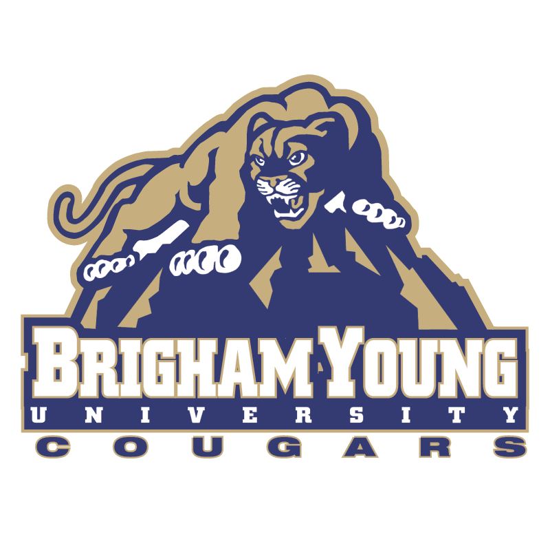 Brigham Young Cougars 74754 vector