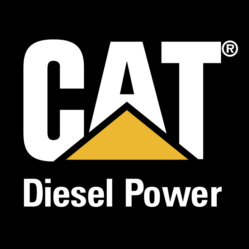 CAT Diesel Power vector logo