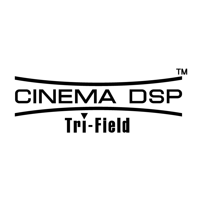 Cinema DSP Tri Field vector logo