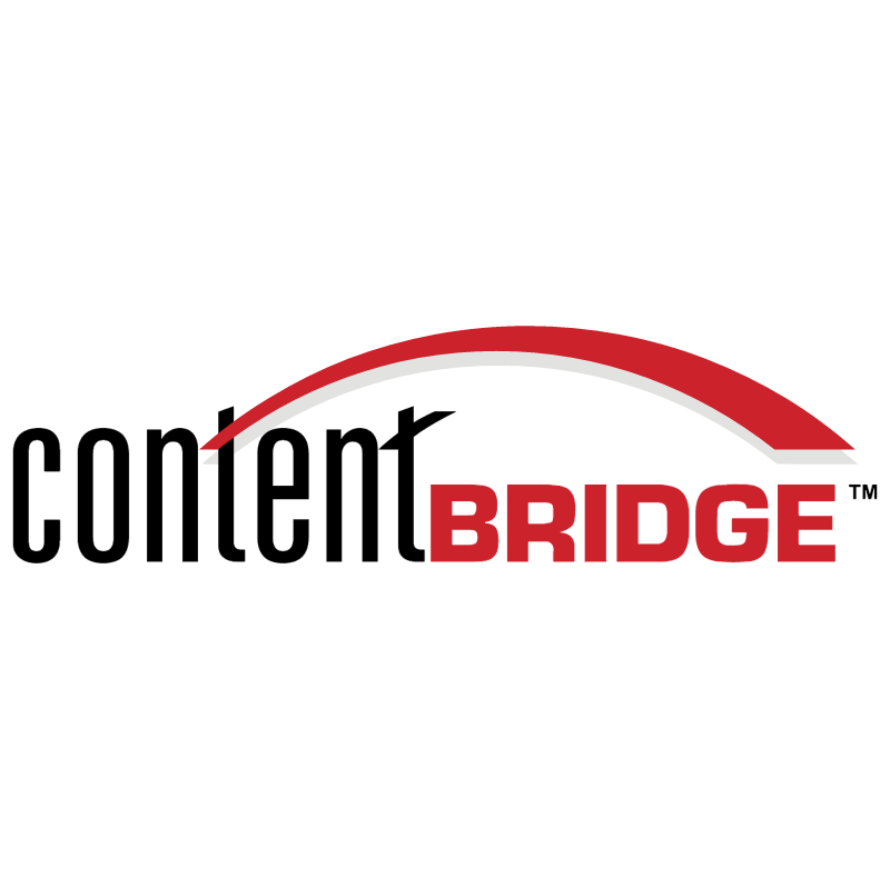 Content Bridge vector