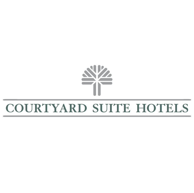 Courtyard Suite Hotels vector