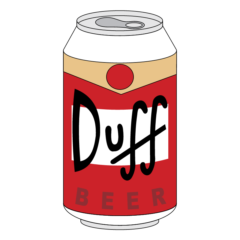 Duff Beer vector