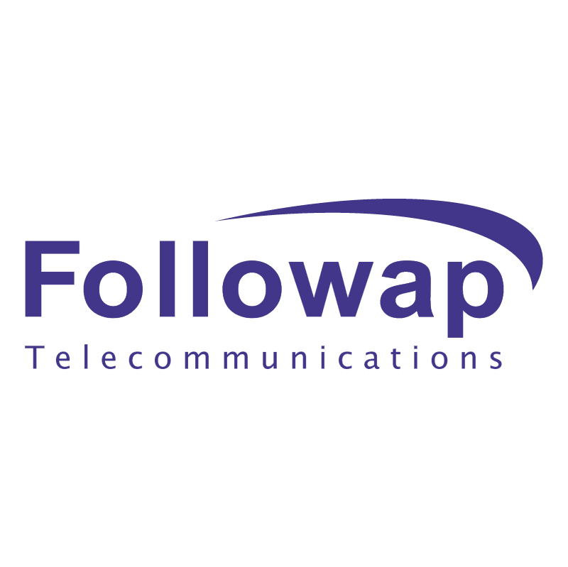 Followap Telecommunications vector