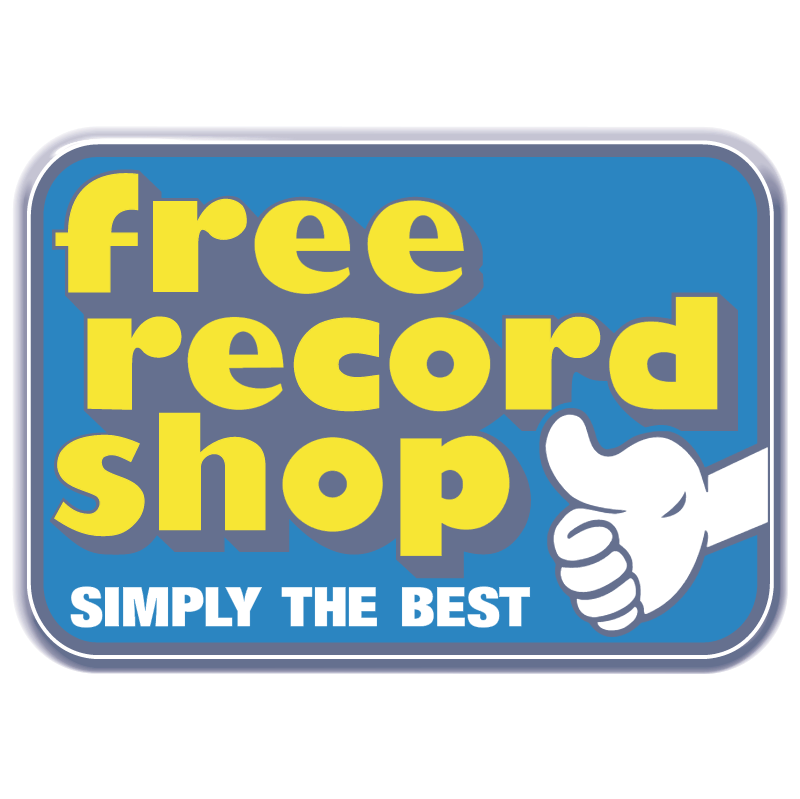 Free Record Shop vector